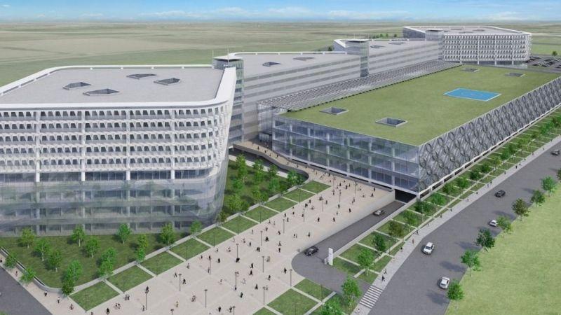Aydın Şehir Hastanesi yapılıyor