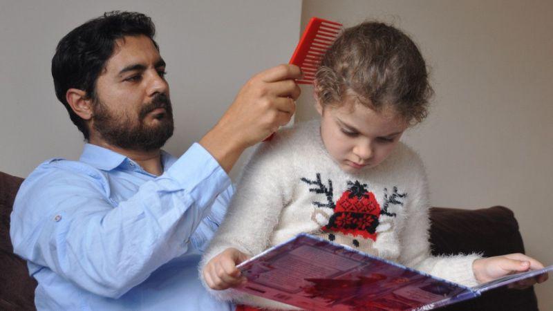 Ukrayna'ya götürülen çocuğuna 4 yıl sonra kavuştu