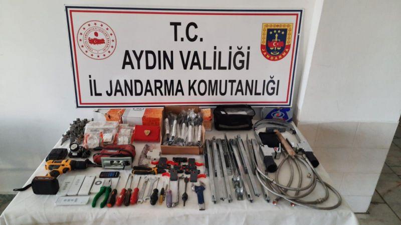 Aydın'da kiralık araçla hırsızlık yapan kişi yakalandı