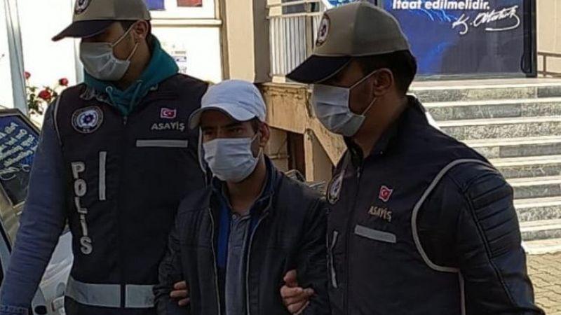 Nazilli'de gaspçı yakalandı
