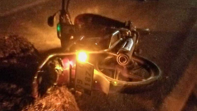 Aydın'da devrilen motosikletin sürücüsü ağır yaralandı