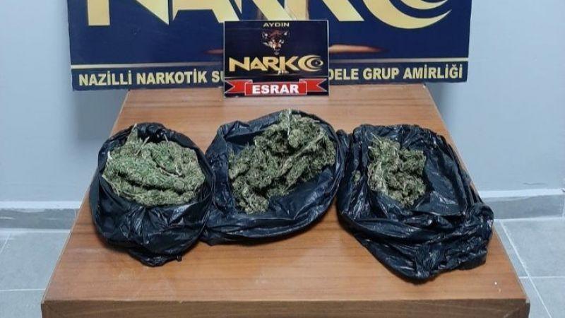 Nazilli polisinden uyuşturucu operasyonu