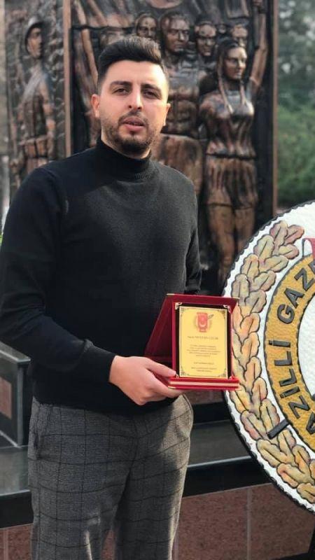 Yılın muhabiri Mustafa Çelik oldu
