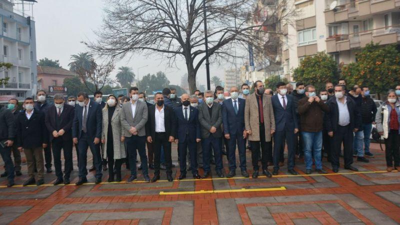 Nazilli'de gazeteciler günü kutlandı