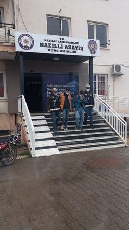 Nazilli'de hırsızlar camide yakalandı