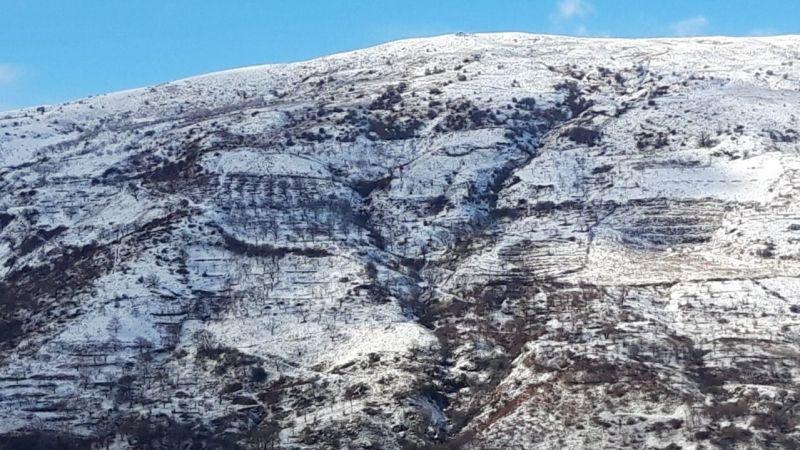 Nazilli'nin yüksek kesimlerine kar yağdı