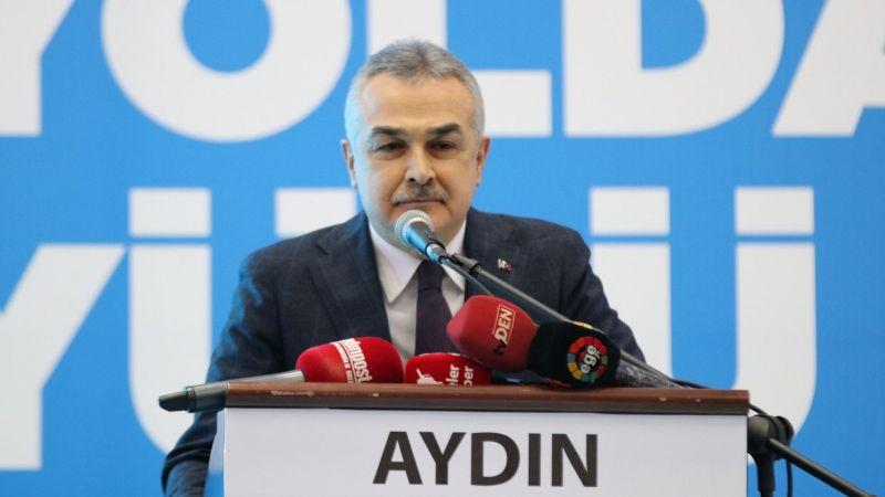 AK Parti Sözcüsü Çelik, partisinin Aydın 7. Olağan İl Kongresi'nde konuştu: