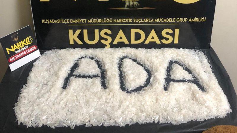 Aydın'da 1 kilo 195 gram uyuşturucu ele geçirildi