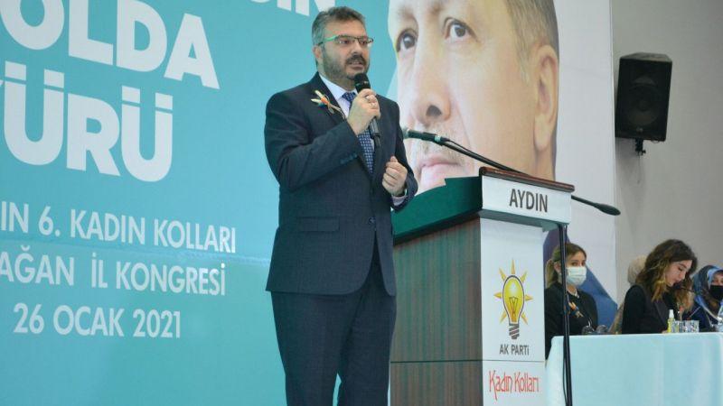 AK Parti Aydın'da Göğde yeniden seçildi