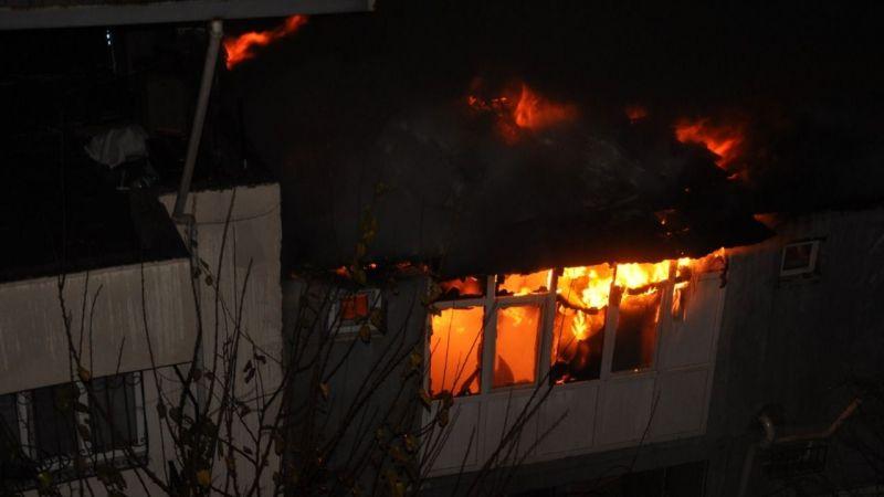 Aydın'daki ev yangınında yaralanan kişi hayatını kaybetti