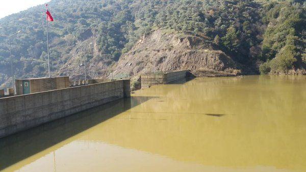 İsabeyli barajı yüzde yüz doldu