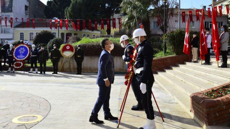 Atatürk'ün Aydın'a gelişinin 90. yıl dönümü törenle kutlandı