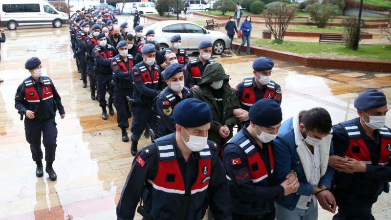 Jandarmadan operasyon: 27 şüpheli yakalandı
