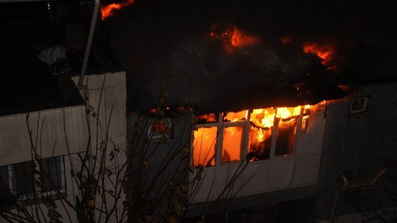 Aydın'da ev yangını: 2 ölü