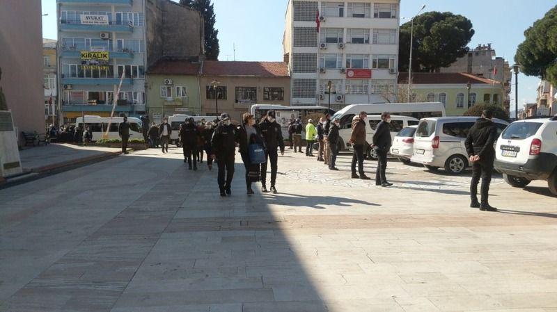 Aydın'da PKK operasyonu: 7 kişi adliyeye sevk edildi