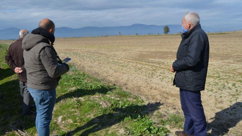 Söke'de tarım arazileri drone ile ilaçlanacak