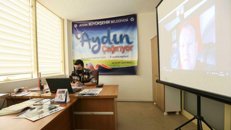 Büyükşehir Belediyesi Dijital Fuarda Aydın'ı Tanıtıyor