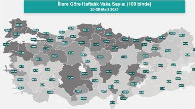 Aydın'da korona patlaması yaşanıyor
