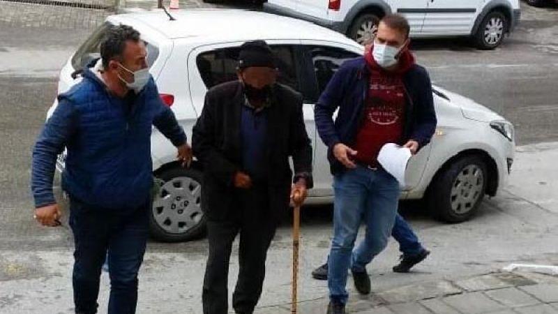 Aydın'da kameralara yakalanan sapık dede tutuklandı