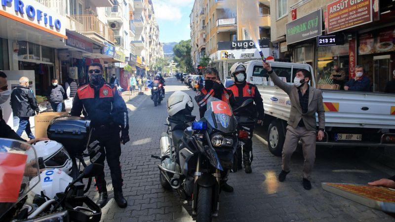 Aydın'da polise yapılan sürpriz ihbarı gerçek oldu