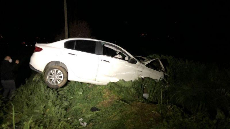 Bozdoğan'da trafik kazası: 1 kişi ağır yaralandı