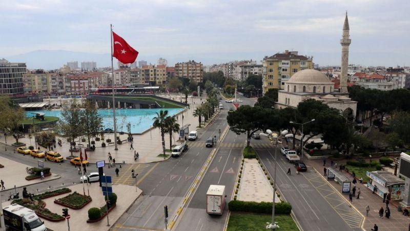 Aydın'da 10 mahalle Kovid-19 nedeniyle karantinaya alındı