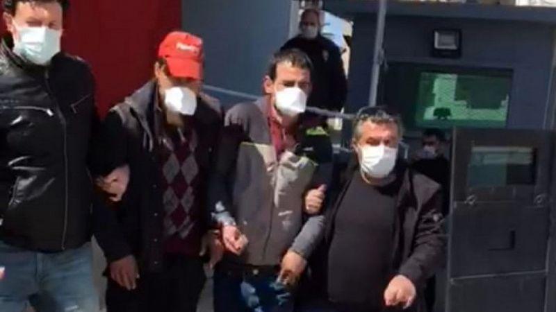 Aydın'da kablo hırsızları yakalandı