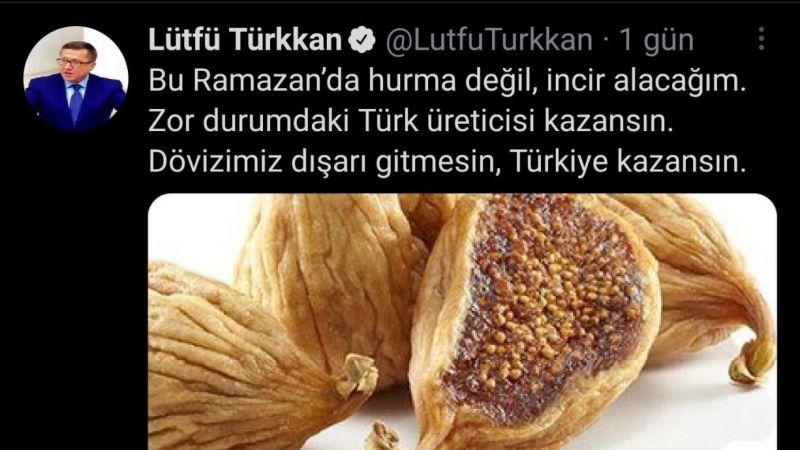 Alkışlar İYİ Parti'ye Hurma değil incir yiyin!