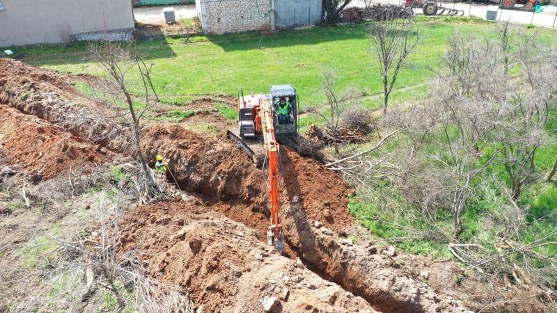 Aydın Büyükşehir tarımsal sulama yatırımlarını sürdürüyor
