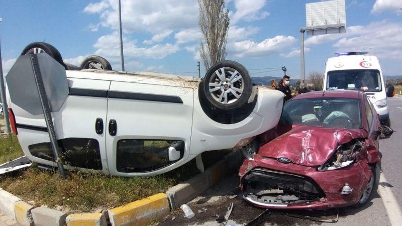 Aydın'da kaza: 3 yaralı