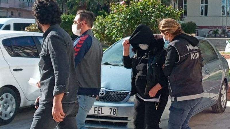 Aydın'da iç çamaşırına uyuşturucu saklayan kadın tutuklandı
