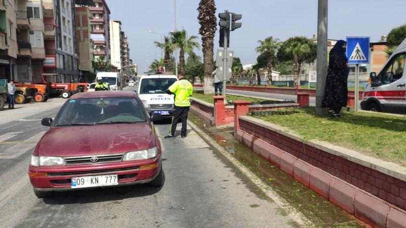 Aydın'da otomobilin çarptığı çocuk ağır yaralandı