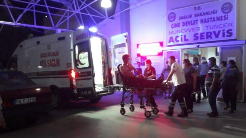 Aydın'daki bıçaklı kavgada bir kişi yaralandı