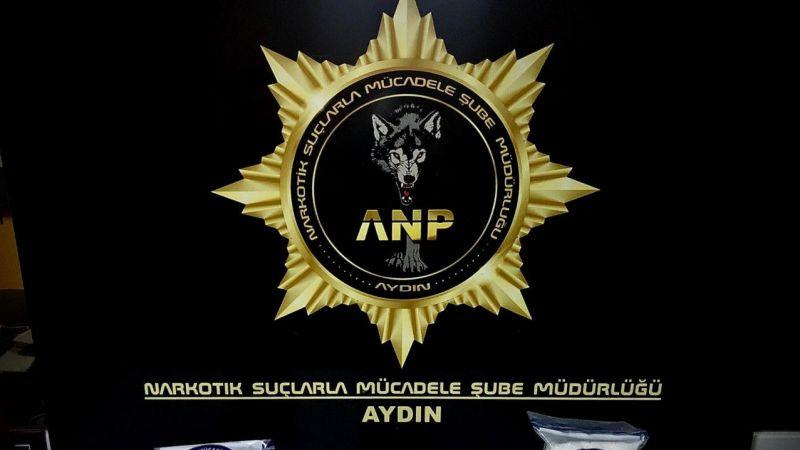 Aydın'da 3 kilo uyuşturucu yakalandı