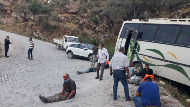 Aydın'da feci kaza: 14 yaralı