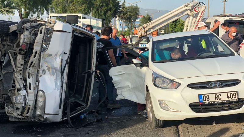 Nazilli'de büyük kaza