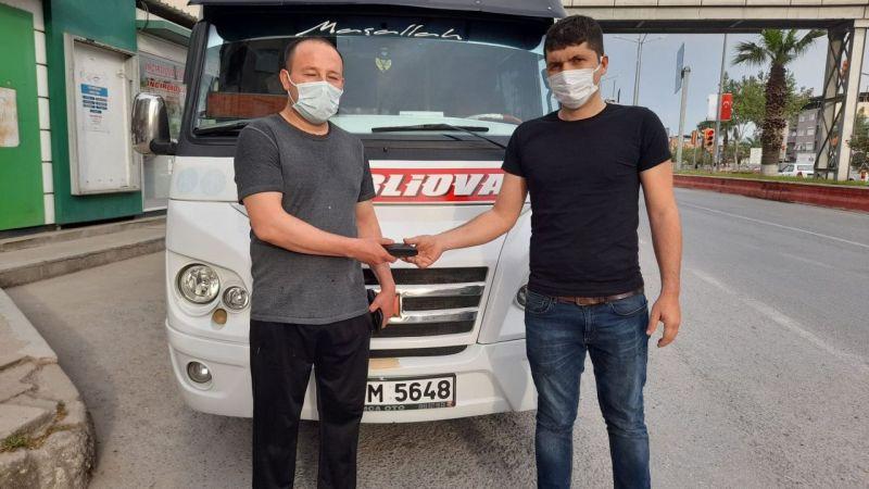Aydın'da minibüs şoförü 'insanlık ölmedi' dedirtti