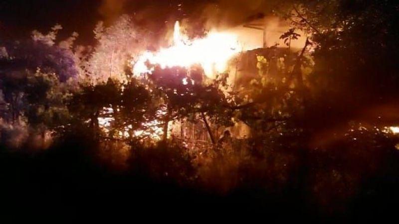 Aydın'da yangın! Alevler bir anda yükseldi