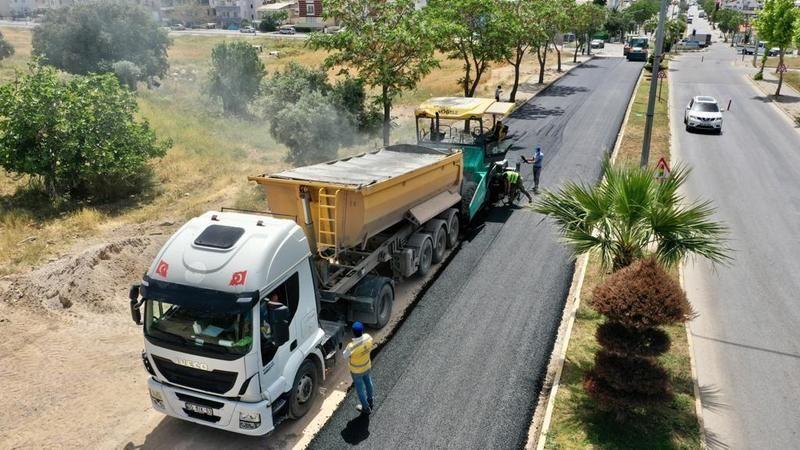 Büyükşehir asfalt sezonuna hızlı başladı