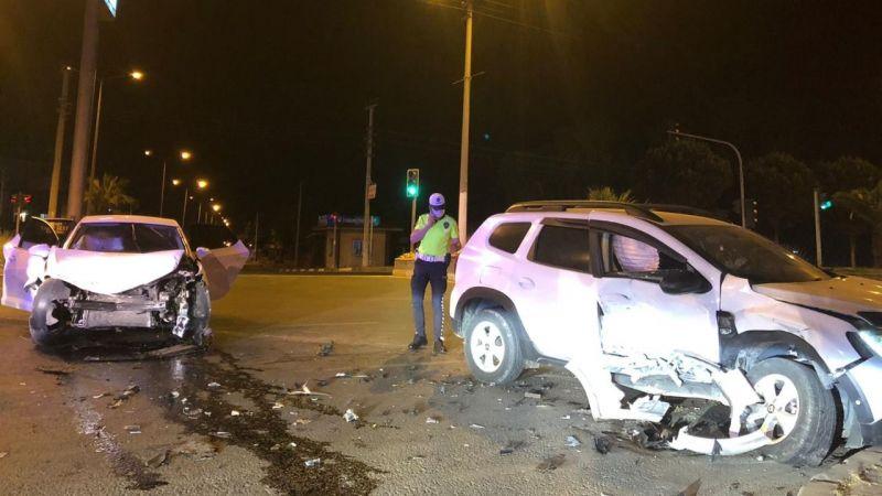 Nazilli'de feci kaza: 3 yaralı