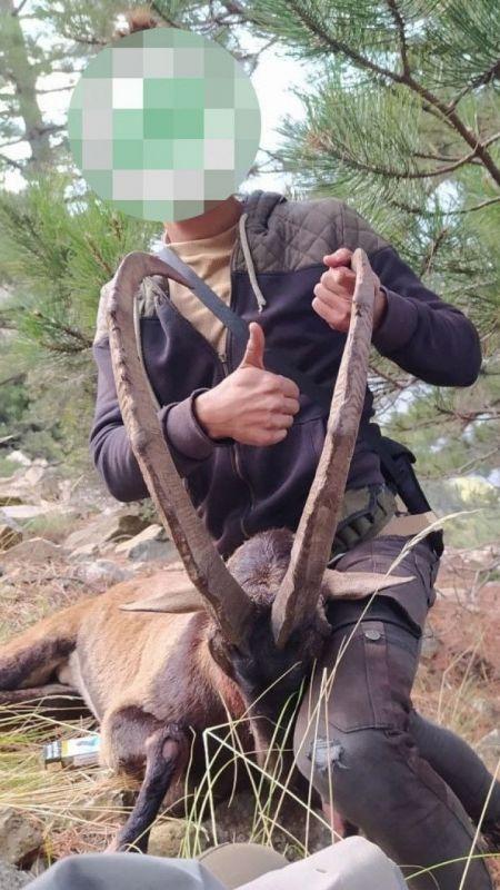 Yaban keçilerini avlayanlara 166 bin 662 lira ceza kesildi
