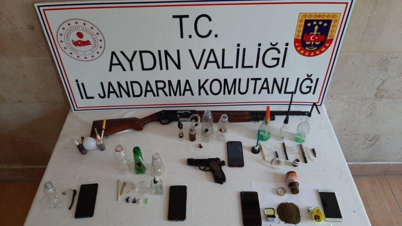 Aydın'da uyuşturucu operasyonu: 6 tutuklama