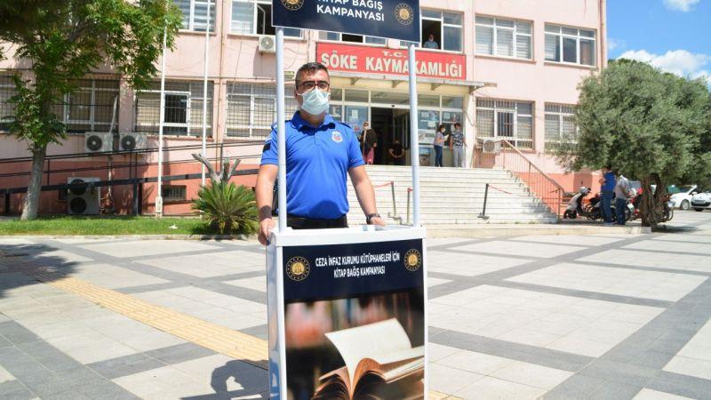 Aydın'da cezaevleri için kitap bağışı kampanyası başlatıldı