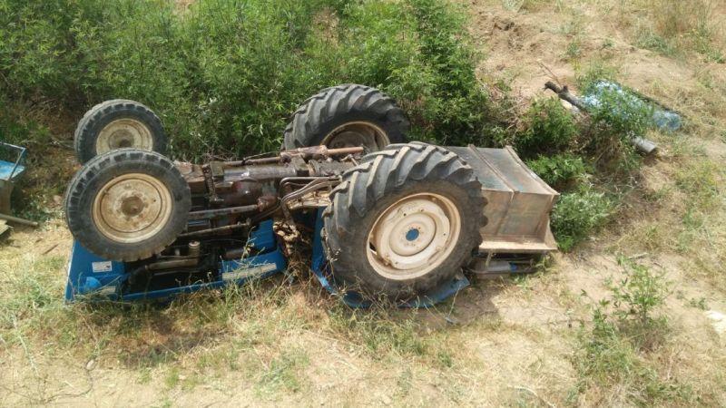 Aydın'da traktör kazası: Yaşam savaşı veriyor