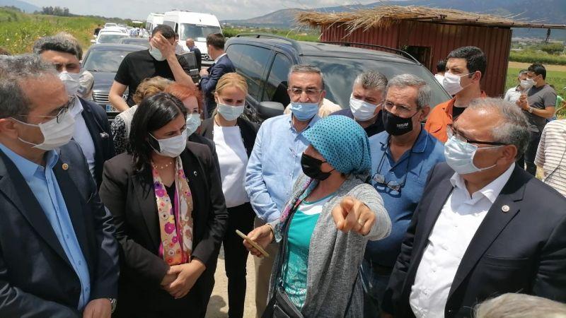 Aydın'da kamusallaştırma mağdurları isyan etti