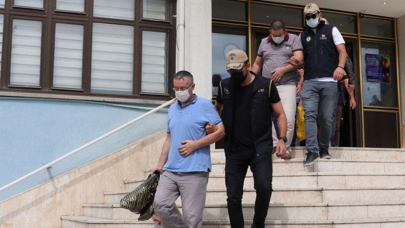 10 FETÖ üyesi kıskıvrak yakalandı
