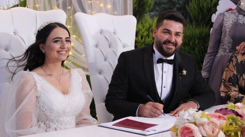 AA muhabiri Mehmet Çalık, dünyaevine girdi