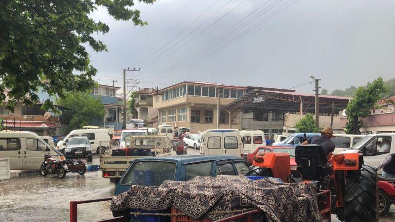 Nazilli'de yağış