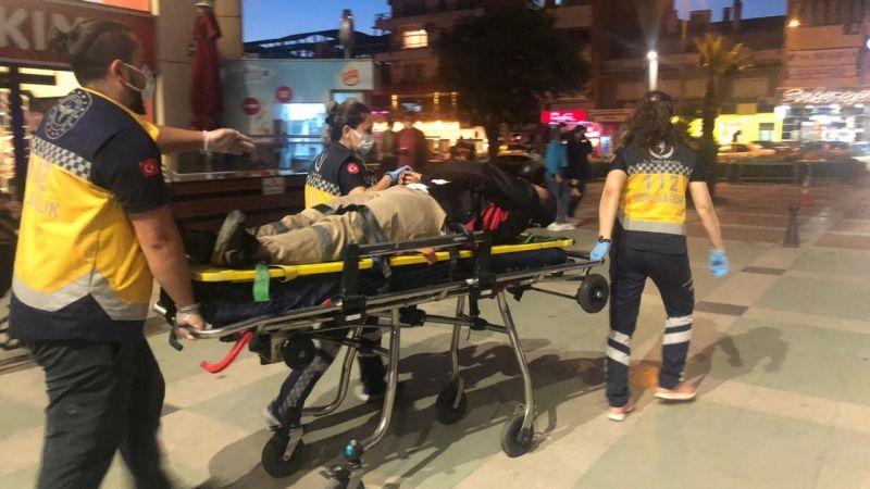 Nazilli'de kaza:1 yaralı