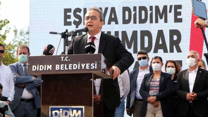 Didim Belediye Başkanı Atabay'a destek için toplandılar